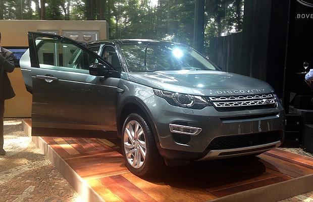Land Rover Discovery Sport (Foto: Giulia Lanzuolo/ Autoesporte)