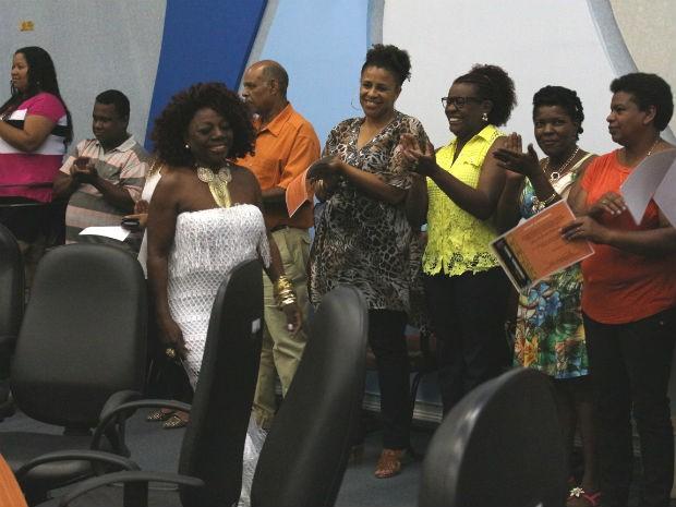 Personalidades negras de Ponta Grossa foram homenageadas durante sessão da Câmara de Vereadores (Foto: Divulgação/Fundação de Cultura)