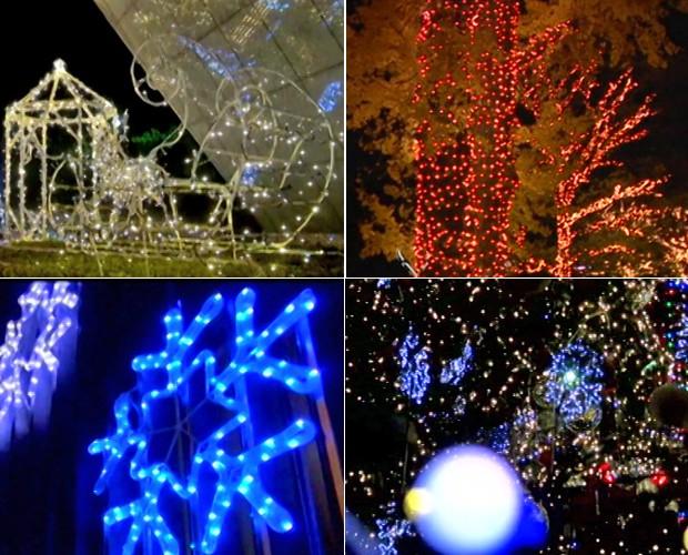 decoracao em lampadas: da Terra com 280 mil lâmpadas – notícias em O programa – Mais Você