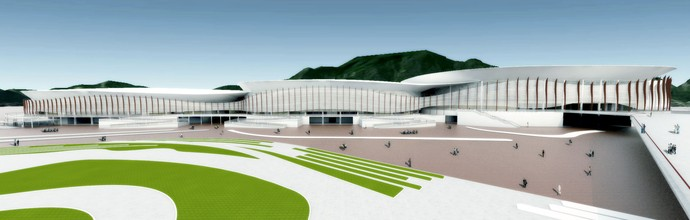 Parque Olímpico - Pavilhão Esportivo (Foto: Renato Sette Camara / EOM)