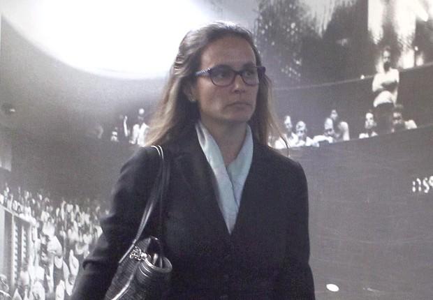 A advogada Beatriz Catta Preta fazia a defesa do ex-gerente de Serviços da Petrobras, Pedro Barusco, um dos convocados a depor na CPI da Petrobras (Foto: Givaldo Barbosa/Agência O Globo)