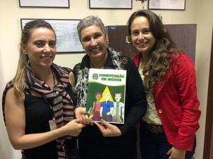 Constituição em Miúdos, Constituição Federal, Pouso Alegre, Tatiana Rezende, Madu Macedo, Mônica Franco (Foto: Divulgação)