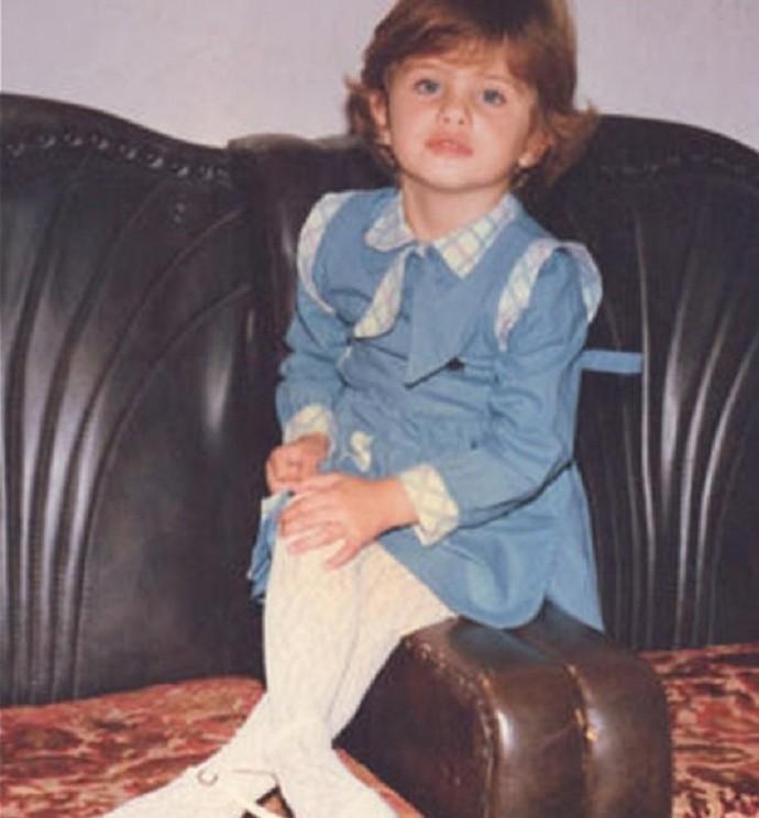 Isabeli quando tinha 5 aninhos. Que fofa, não? (Foto: Arquivo Pessoal)