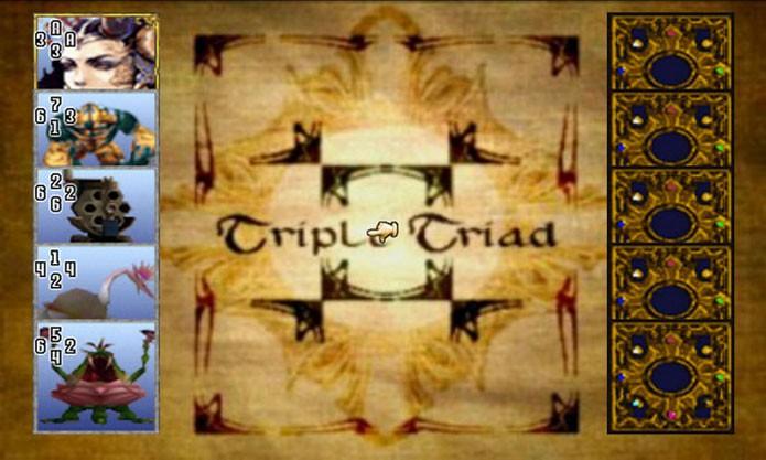 Triple Triad era o jogo dentro do jogo (Foto: Divulgação)