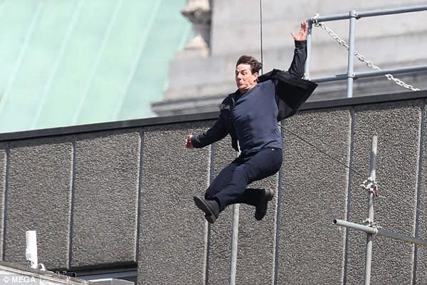 Tom Cruise se acidenta em filmagem de 'Missão Impossível 6' (2018) (Foto: Divulgação)