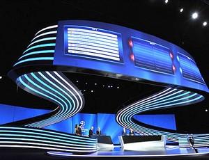 sorteio UEFA Liga dos Campeões (Foto: Reprodução / Site Oficial da UEFA)