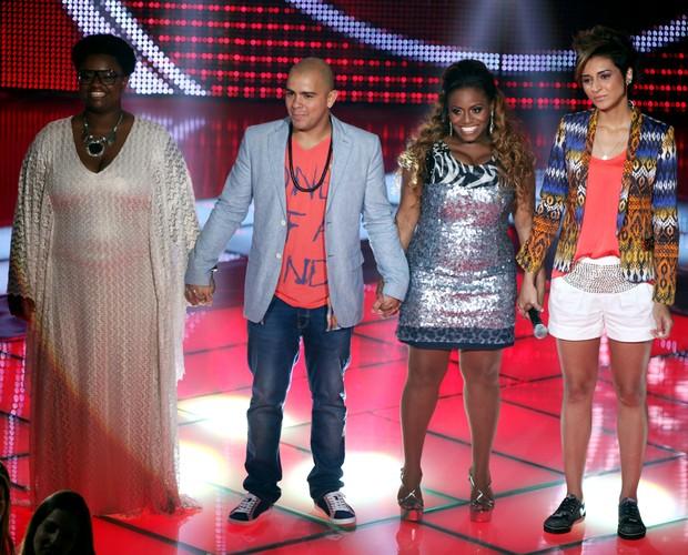 Ellen, Rafah, Ludmillah e Dani Morais (Foto: The Voice Brasil / Tv Globo)