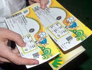 Troca de ingressos para Copa das Confederações em Salvador (Foto: Divulgação/Secopa)