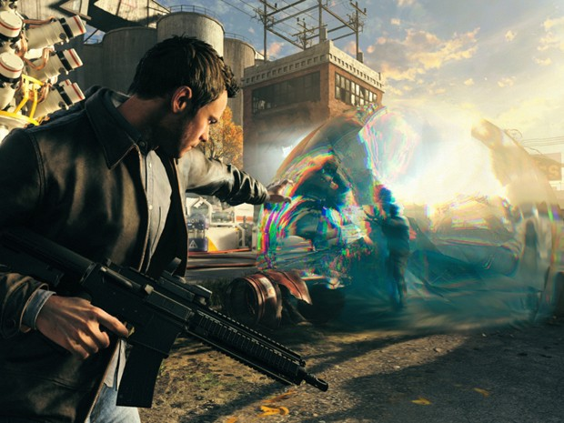 'Quantum Break' conta sua história de manipulação do tempo em um game de ação com cenas em formato de série (Foto: Divulgação/Microsoft)