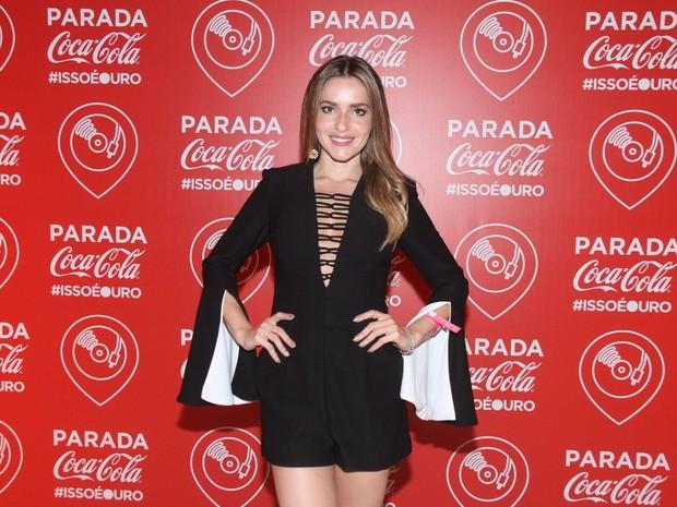 Monique Alfradique em festa no Rio (Foto: Thyago Andrade/ Brazil News)
