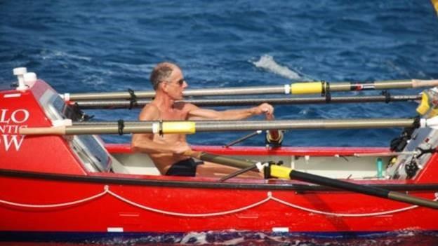 John Beeden atravessou o Pacífico a remo em 109 dias (Foto: Solo Pacific Row/Divulgação)
