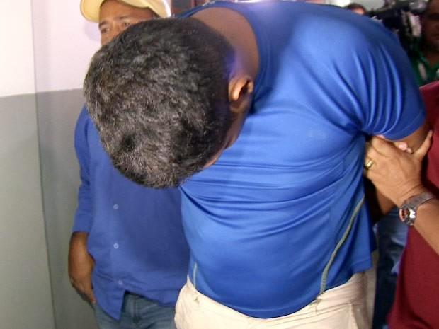Ex-marido foi preso em Cuiabá (MT) por matar grávida e jogar corpo em lixão da capital. (Foto: Reprodução/TVCA)