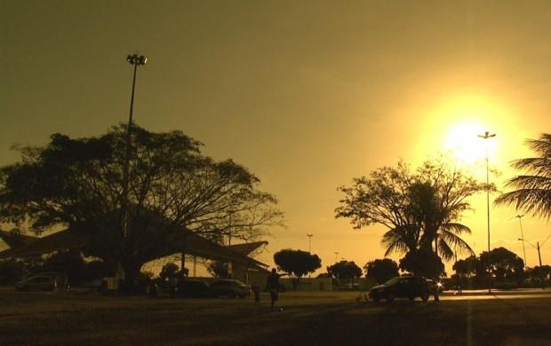 Parque Anauá é opção de lazer para as famílias em Boa Vista (Foto: Bom Dia Amazônia)