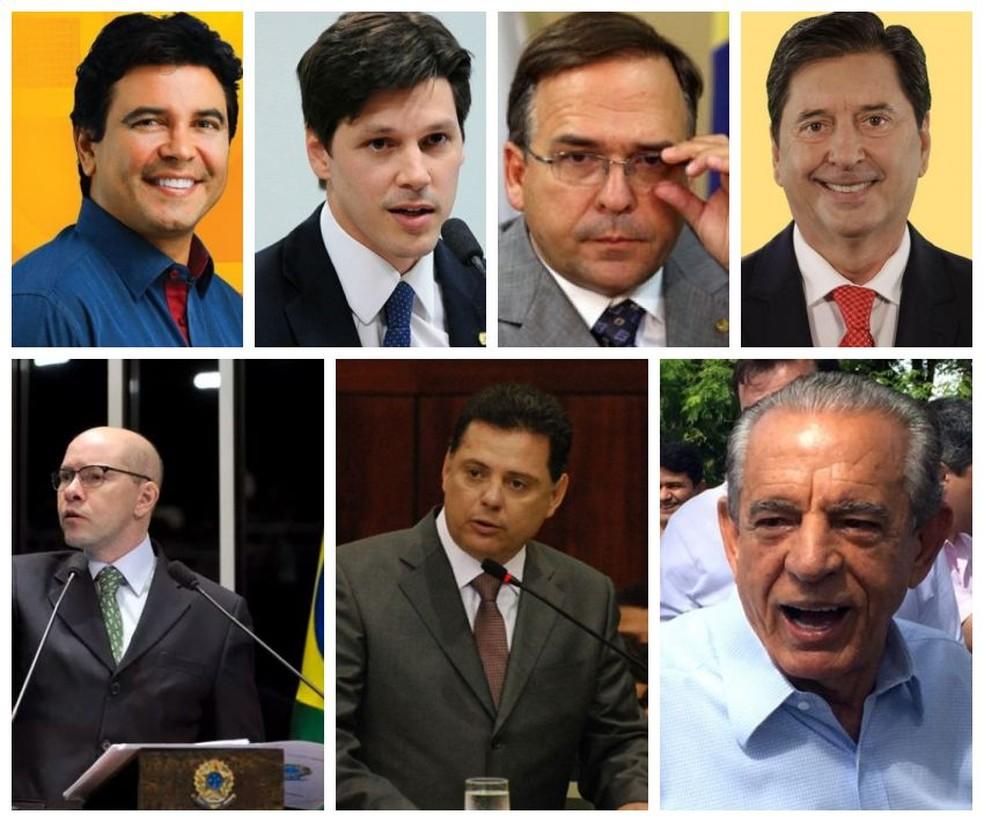 Sete políticos de Goiás são citados na lista de Fachin (Foto: Reprodução)