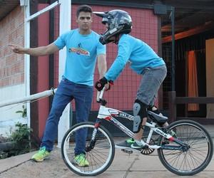 Eduardo Filipe Rodrigues, dono de pista de bicicross em Itaúna (Foto: Eduardo Rodrigues/Arquivo pessoal)