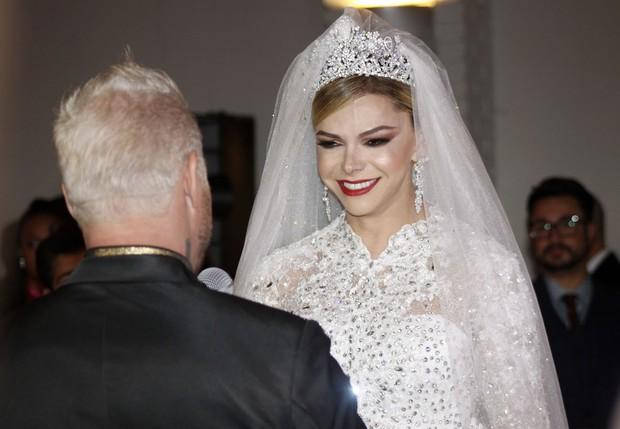 Léo Áquilla e Chico Campadello se casam (Foto: Celso Tavares/EGO)