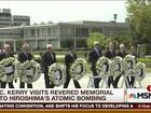 Kerry faz visita histórica ao Memorial de Hiroshima
