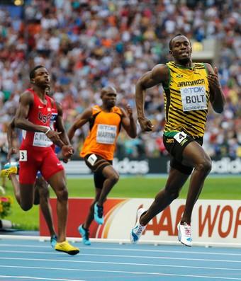 usain bolt 200 m moscou mundial de atletismo (Foto: Reuters)