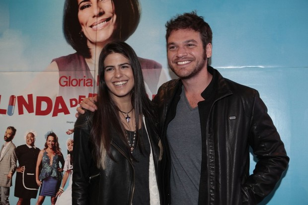 Antonia Morais e Emílio Dantas (Foto: Isac Luz / EGO)