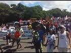 Servidores estaduais protestam no CAB e reivindicam reajuste salarial