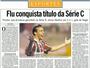 Memória: Há 16 anos, Fluminense conquistava a Série C do Brasileiro