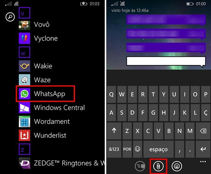 WhatsApp para Windows Phone recebeu uma atualização que oferece edição de imagens (Foto: Divulgação/Elson de Souza)