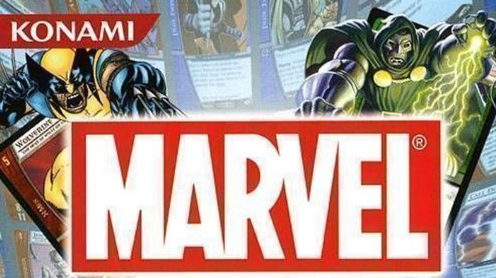 Séries famosas com jogos de cartas: Marvel Trading Card Game (Foto: Divulgação/Konami)