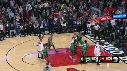 Melhores momentos: Boston Celtics 103 x 104 Chicago Bulls pela NBA