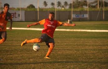 Rodolfo é o terceiro jogador a deixar  o elenco do CRB no mês de agosto