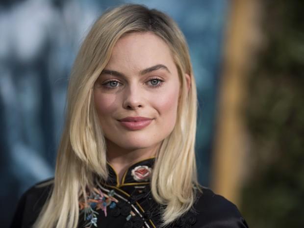Margot Robbbie em première em Los Angeles, nos Estados Unidos (Foto: Valerie Macon/ AFP)