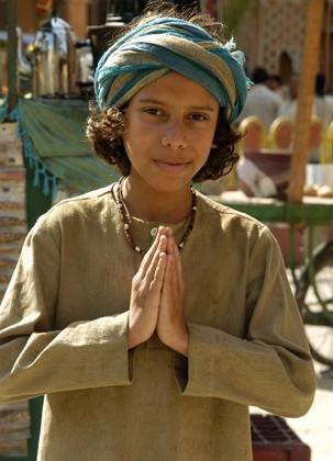 Cadu no papel de Hari em Caminho das Índias (2009) (Foto: Kiko Cabral/Globo)