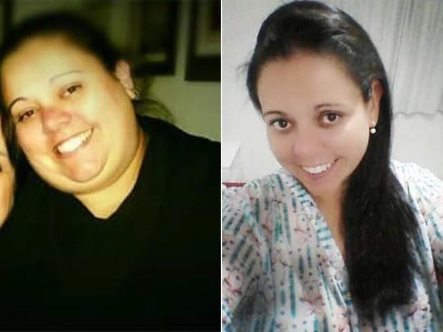 Depois de emagrecer 65 kg, Roberta tem mais pique para acompanhar os filhos gêmeos de 10 anos (Foto: Roberta Penha da Rosa/Arquivo pessoal)