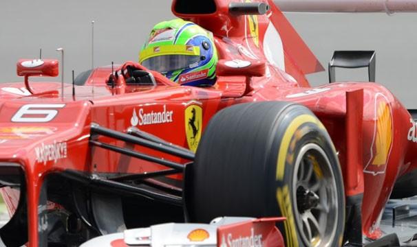 Felipe Massa busca mais um pódio no Grande Prêmio da Coreia (Foto: AFP)