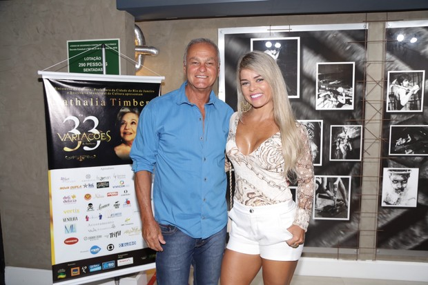 Kadu Moliterno e Cristiane Rodriguez (Foto:  Felipe Assumpção e Alex Palarea  / AgNews)