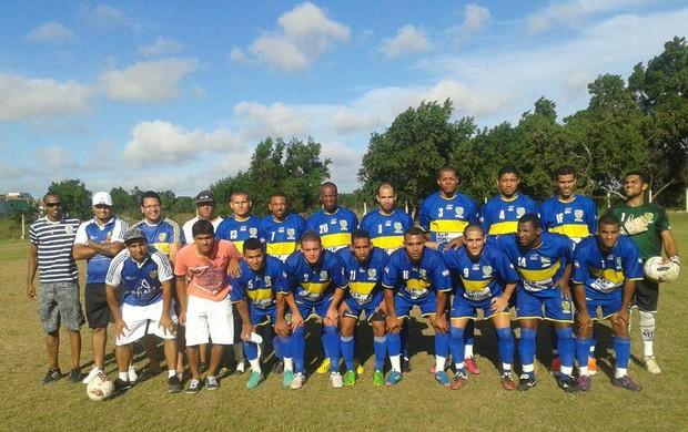 O time do Parma, do bairro Novo Horizonte, na Serra, foi um dos oito classificados para as quartas de final da Interligas 2013 (Foto: Divulgação/Parma)