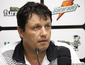 Técnico Adilson Batista, técnico do Figueirense (Foto: Luiz Henrique/ Figueirense)