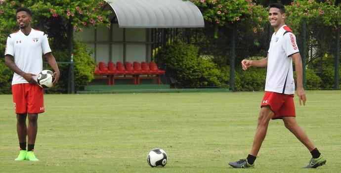 Michel Bastos Alan Kardec São Paulo (Foto: Marcelo Hazan)