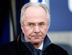SVEN GORAN ERIKSSON treinador do Leicester city (Foto: agência AP)