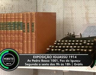 Minuto Cultural Foz - Exposição Iguassu (Foto: Reprodução/RPC TV)