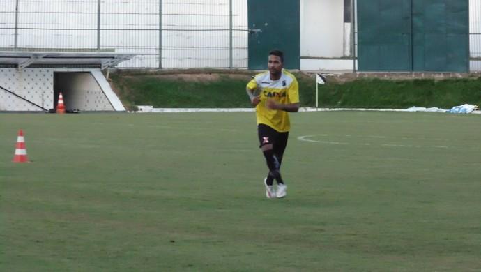 Fabinho Alves - atacante do ABC (Foto: Carlos Cruz/GloboEsporte.com)