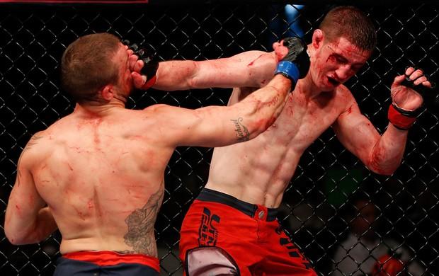 Loughnane e Wilkinson no UFC: Sotiropoulos x Pearson (Foto: Getty Images)