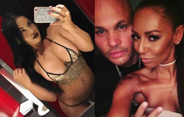 A stripper que alega ter feito sexo a três com Mel B e o atual ex-marido (Foto: Instagram)