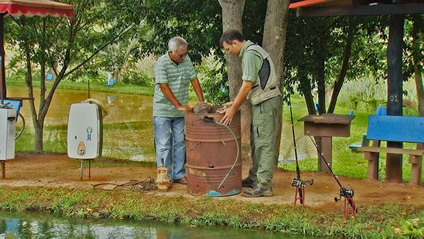 gente da terra raimundo  (Foto: Sávio Monteiro/TG)