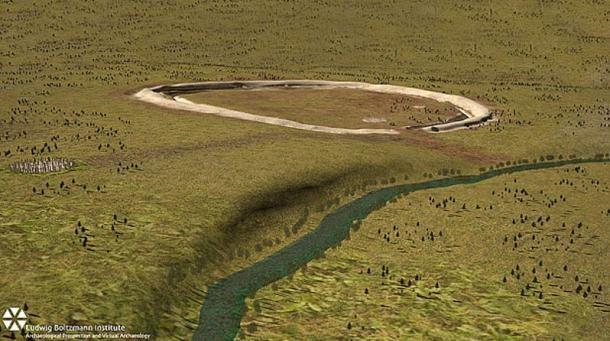 monumento fica na região do rio Avon, na Inglaterra (Foto: Reprodução)