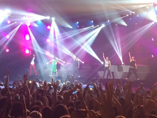 Backstreet Boys (Foto: Andressa Gonçalves)