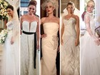 Inspire-se em 30 modelos de vestidos de noiva que foram sucesso na TV
