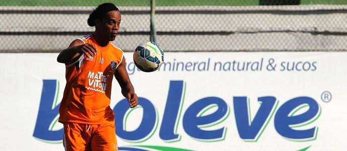 Ronaldinho treino fluminense (Foto: Nelson Perez / Fluminense FC)