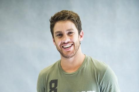 Leonardo Miggiorin (Foto: João Miguel Júnior/ TV Globo)