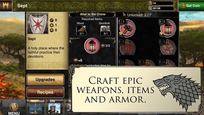 Jogo da série Game of Thrones chega ao iOS (Foto:Divulgação)