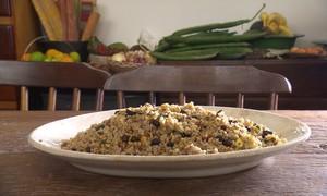 Exclusivo web: aprenda a receita de arroz com tanajuras e amendoim